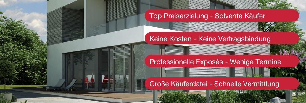 Immobilienmakler für das Münsterland, das Ruhrgebiet und das Rheinland