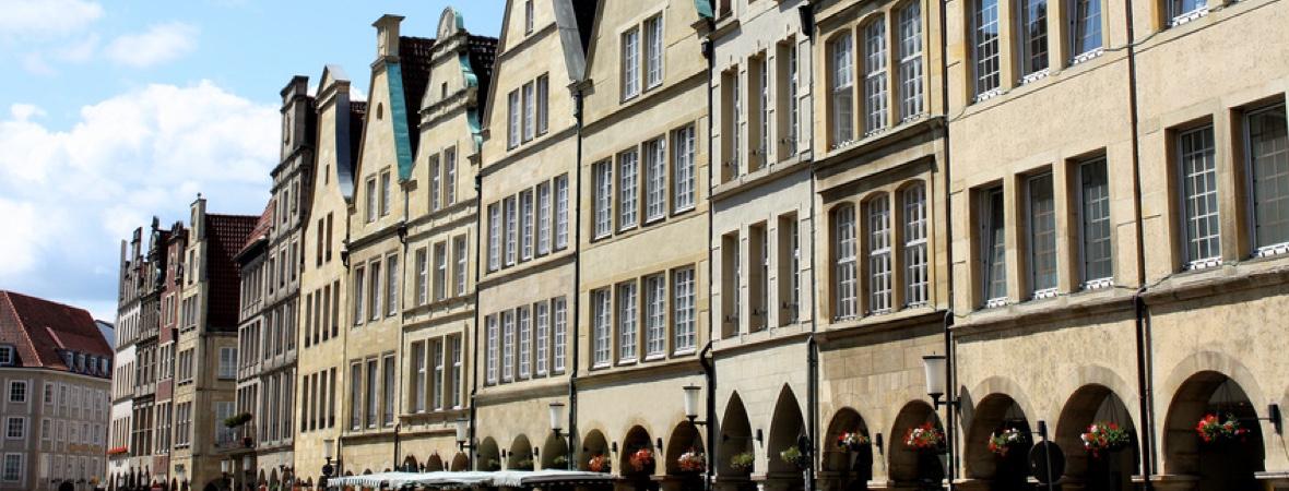 Wohn- und Geschäftsanlagen - Immobilienmakler für das Münsterland, das Ruhrgebiet und das Rheinland