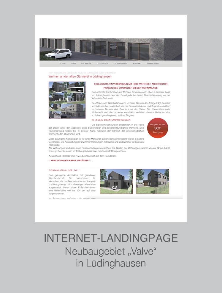 Immobilienmakler Münster Coesfeld Steinfurt - Projekt LH