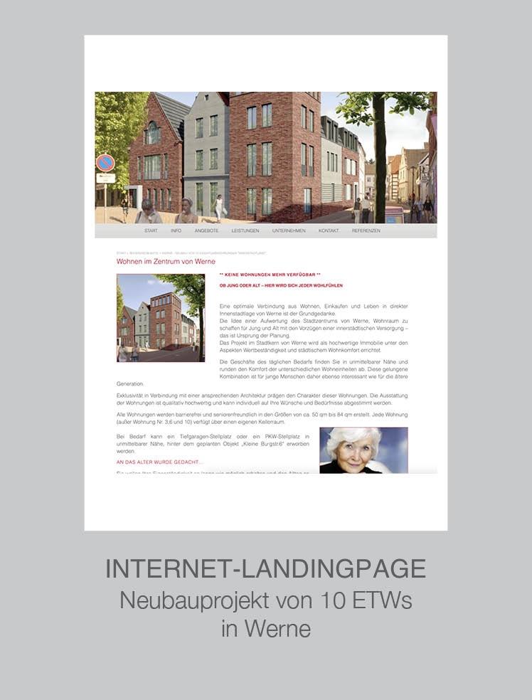 Immobilienmakler Münster Coesfeld Steinfurt - Projekt Werne